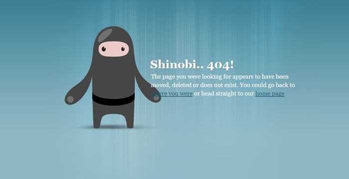 Optimize Your 404 Page
