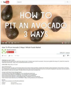 whole foods youtube video
